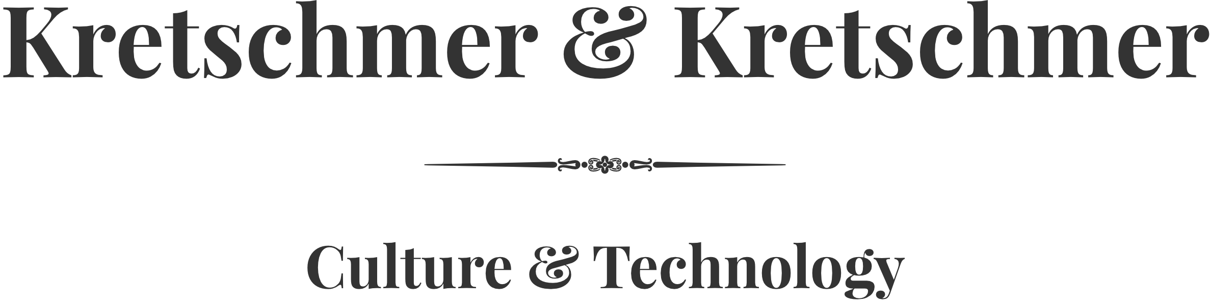 Logo der Kretschmer & Kretschmer - Culture & Technology GbR